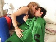 Гиг Порно куни девочки Секс в костюмах персонажей комиксов