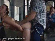 Гиг Порно  Никто из пассажиров автобуса не пресек разврат