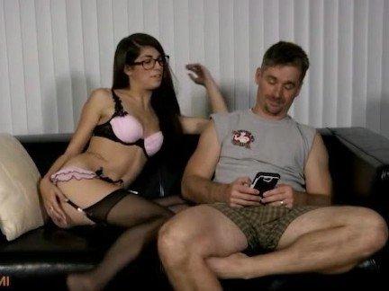 Падчерица порно ретро