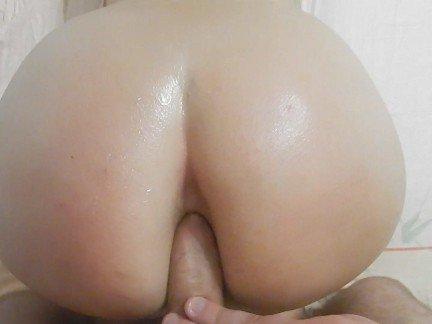 Гиг Порно Девушка с большой жопой кончила от глубокого анала втроем гигпорно видео