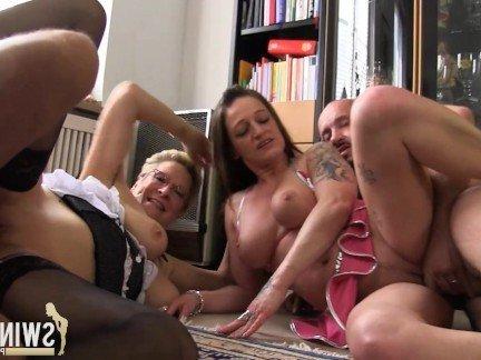 Ххх несколько женщин удовлетворяют одного мужика немецкое порно