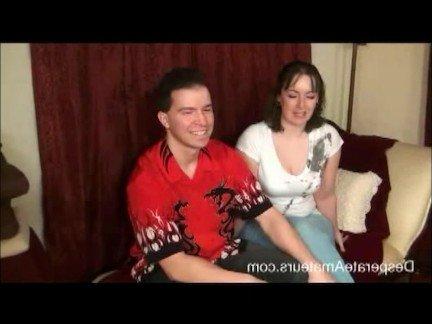 Гиг Порно Секс Кастинги аматюрка брюнетка в позе раком верхом жена мамаша милфа наездница нарезка огромные дойки пухлая сосет член тату гигпорно видео