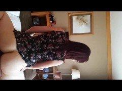 Порно Сексуальная англичанка совокупляется с мужем в позе наездницы на вебкамеру видео