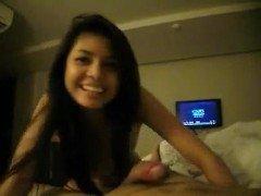 Порно Филиппинская проститутка жестко трахается с туристом в мотеле видео
