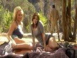 Ничего не может быть лучше на пикнике чем жаркий секс втроем
