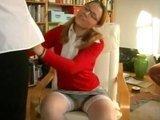 Сладенькая Анна получает живые уроки анального секса :)