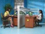 Гиг Порно  Две сексуальные секретарши просто заскучали к концу дня ;)