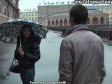 Гиг Порно Симпатичная русская девушка отдается в попку первому встречному