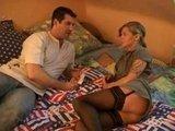 Немецкая любительская парочка в своей сценке Секс за Деньги