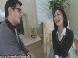 Молоденькая азиатская студенточка и её новый преподаватель :)