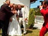 Гиг Порно красивый оргазм Свадебная фото-съемка переросла в групповую порку невесты :)