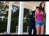 Юная нарушительница Тори Блек получила наказание большим фаллосом