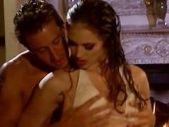 Любвеобильная молода порно модель не против спермы в пизде