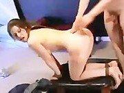 Гиг Порно рвет членом Сексуальное наслаждение через боль