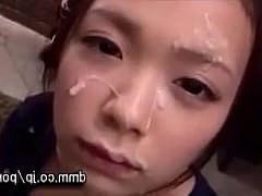 Порно подборка развратных японских девушек со спермой на лицах