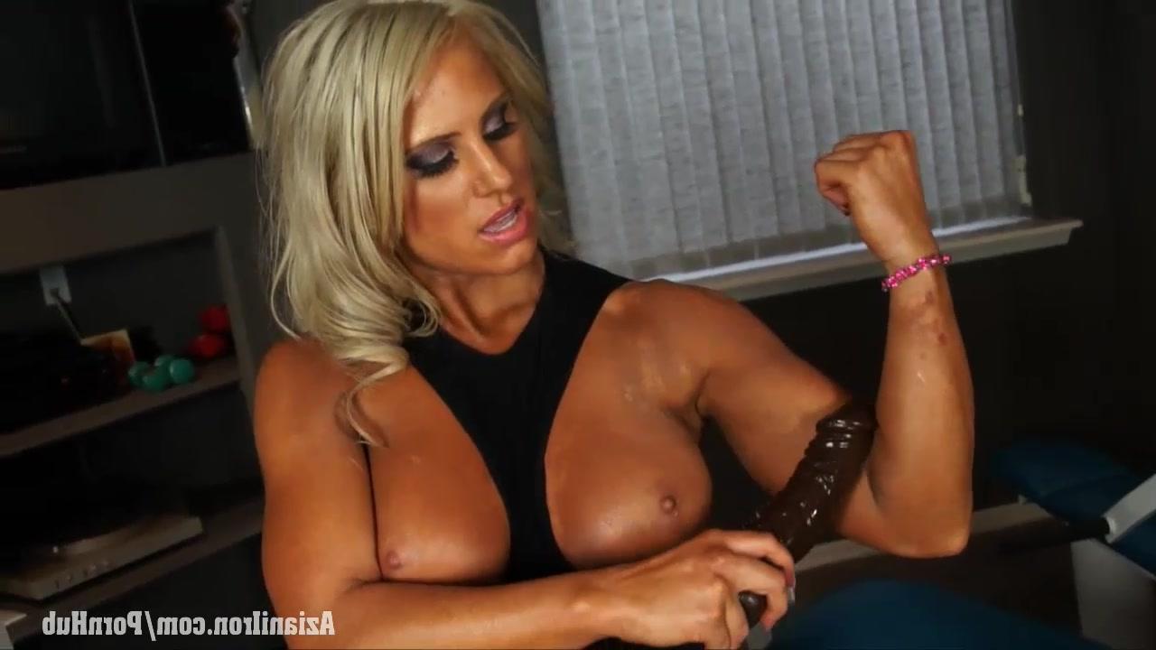 Порно видео мускулистая девушка в спортзале в хорошем качестве фотоография