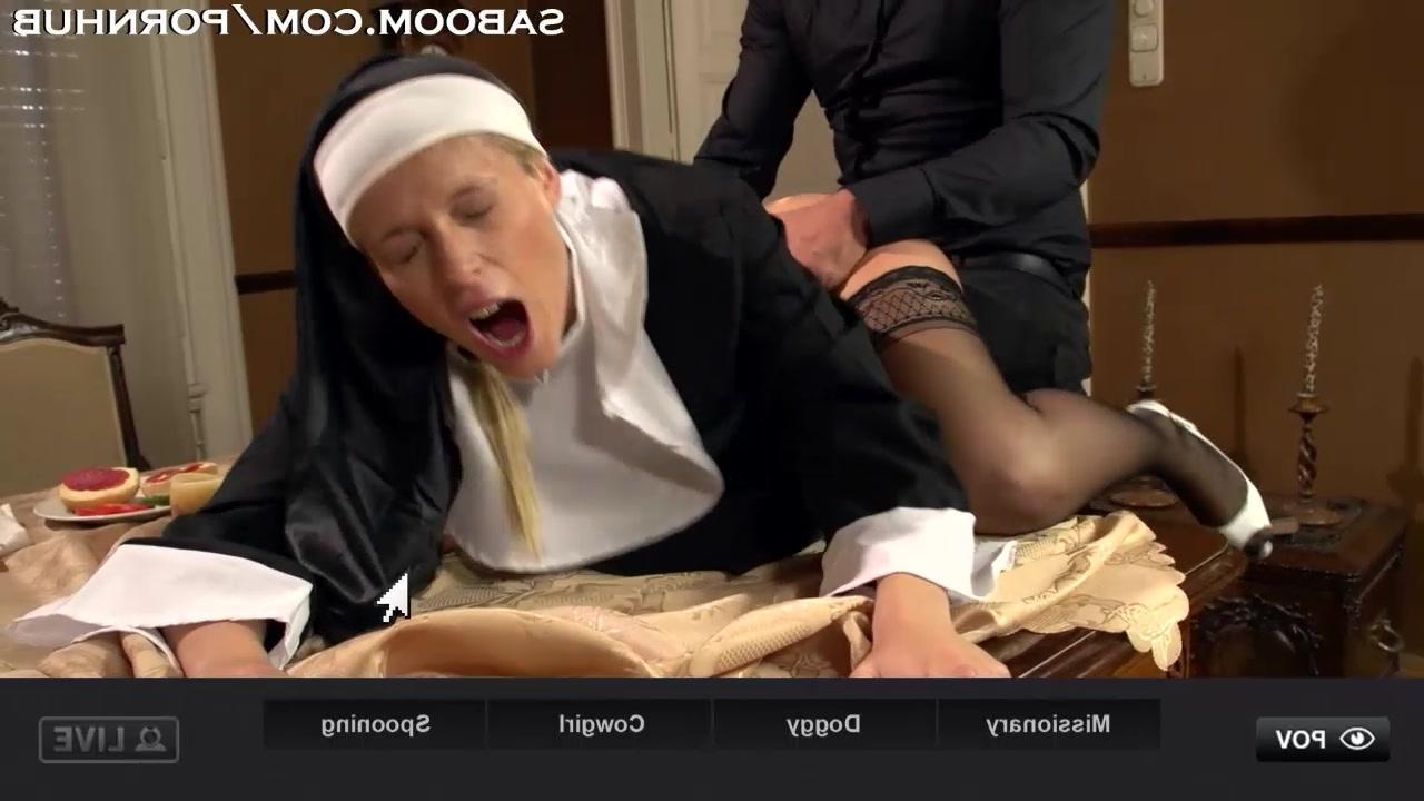танец монашка снимает платье эротика