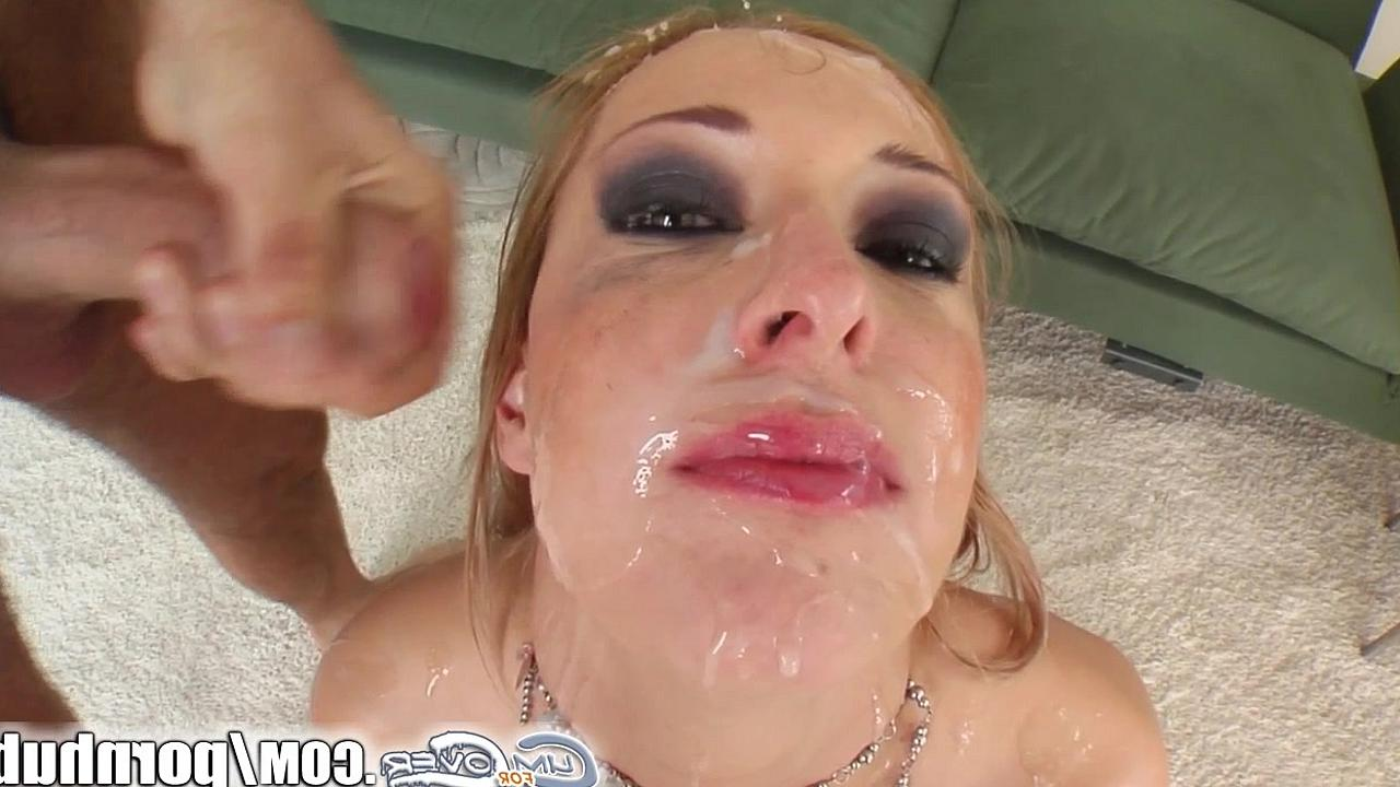 Много спермы в рот порно звёздам с большими сиськами
