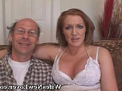 Гиг Порно кино большие Зрелая рыжая жена горячо трахается с парнем в присутствии мужа импотента