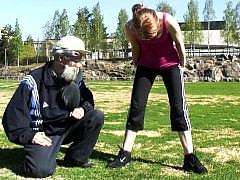 Видео нарезка сцен секса из Финляндии с юными блондинками и старыми ебарями
