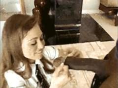Подборка жестокого траха черными фаллосами белокожих зрелых шлюх