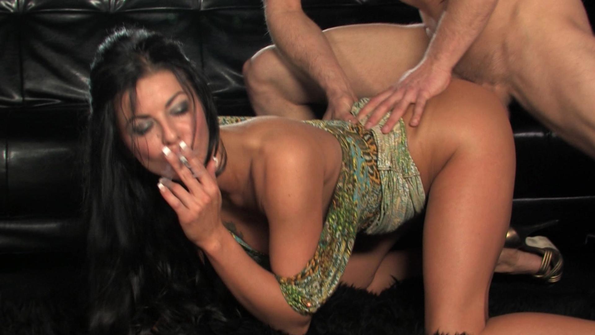 Порно гламур курение фото 747-947