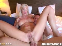 Порно с блондинками сильно кричат